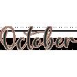 A Year Full - Enamel - October