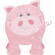 Barnyard Fun - Stamped Pig