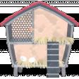 Barnyard Fun - Stamped Chicken Coop