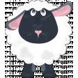 Barnyard Fun - Stamped Sheep