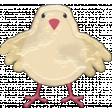 Barnyard Fun - Stamped chick