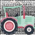 Barnyard Fun - Stamped Tractor