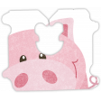 Barnyard Fun - bread tag- piggy
