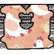 Barnyard Fun - Bread Tag- Chicken