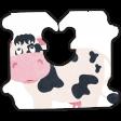 Barnyard Fun - Bread Tag- Cow