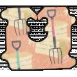 Barnyard Fun - Bread Tag- Hay and Pitchfork