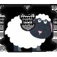 Barnyard Fun - Bread Tag- Sheep