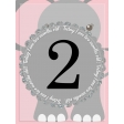 baby card,  month#2