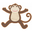 Noah's Ark Wooden Monkey
