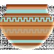 Sedona Sunrise - Acrylic Pottery #1