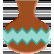 Sedona Sunrise - Acrylic Pottery #2