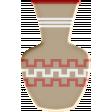 Sedona Sunrise - Acrylic Pottery #3