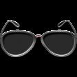 Just Me in Denim - Enamel sunglasses