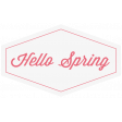 Hello Spring Label 3
