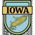 Iowa Word Art Crest