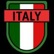 Italy Word Art Crest