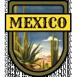 Mexico Word Art Crest