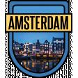 Amsterdam Word Art Crest