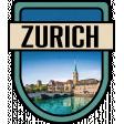 Zurich Word Art Crest