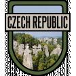 Czech Republic Word Art Crest