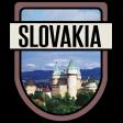 Slovakia Word Art Crest