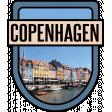 Copenhagen Word Art Crest