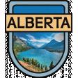 Alberta Word Art Crest