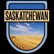 Saskatchewan Word Art Crest