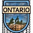Ontario Word Art Crest