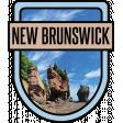 New Brunswick Word Art Crest