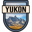 Yukon Word Art Crest