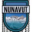 Nunavut Word Art Crest