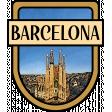Barcelona Word Art Crest