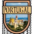Portugal Word Art Crest