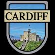 Cardiff Word Art Crest