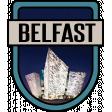 Belfast Word Art Crest