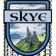 Skye Word Art Crest