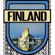 Finland Word Art Crest