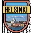 Helsinki Word Art Crest