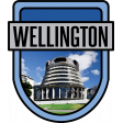 Wellington Word Art Crest