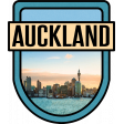 Auckland Word Art Crest