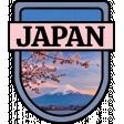 Japan Word Art  Crest