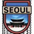 Seoul Word Art Crest