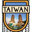 Taiwan Word Art Crest