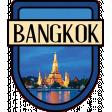 Bangkok Word Art Crest