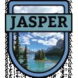 Jasper Word Art Crest