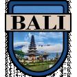 Bali Word Art Crest
