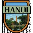 Hanoi Word Art Crest