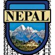 Nepal Word Art Crest