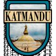 Katmandu Word Art Crest